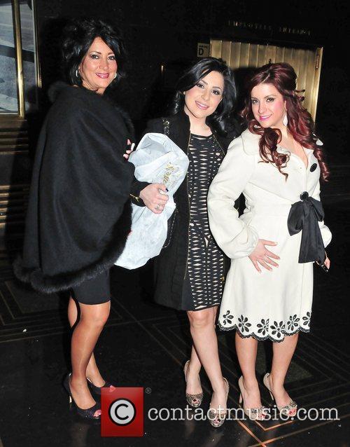 Diane Scali, Kimberly Gambale, Christina Scali of 'Jersey...