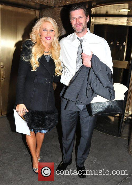 Gretchen Rossi and Slade Smiley Celebrities arrive at...