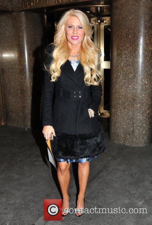 Gretchen Rossi Celebrities arrive at the NBC Studios...