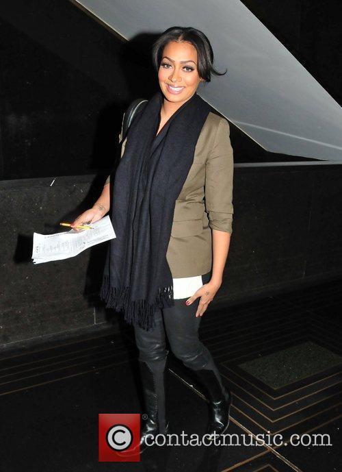 Lala Vazquez Celebrities arrive at the NBC Studios...