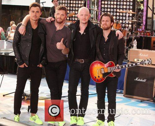The Fray and Rockefeller Plaza 4