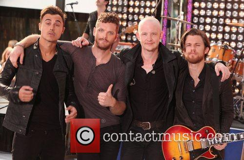 The Fray and Rockefeller Plaza 5