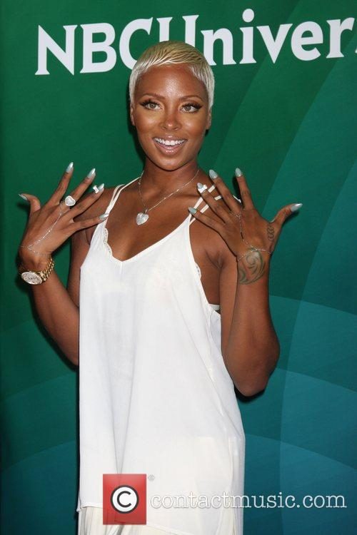 eva marcille nbc universal press tour at 4006685