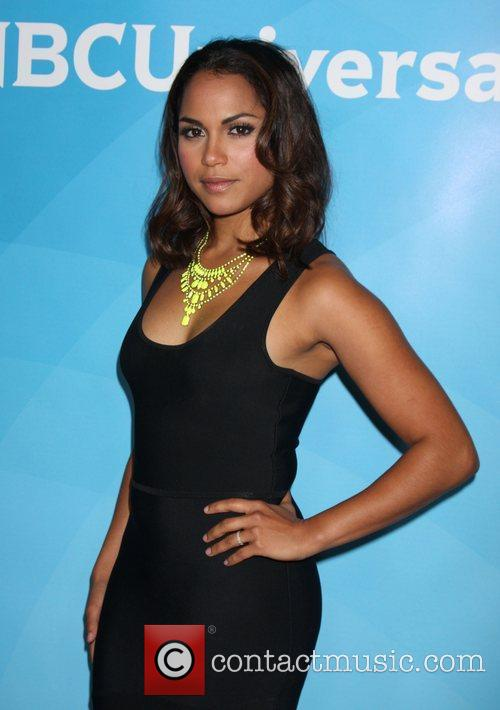 Monica Raymund and Beverly Hilton Hotel 6