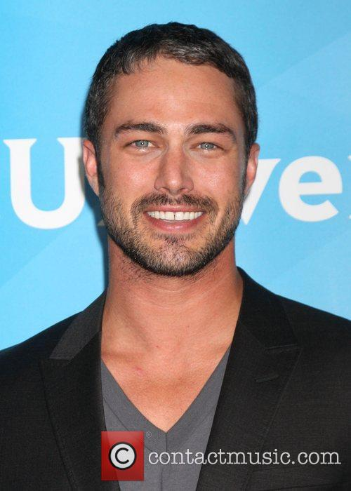 Taylor Kinney and Beverly Hilton Hotel 1