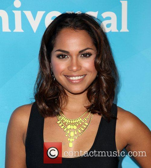 Monica Raymund and Beverly Hilton Hotel 2