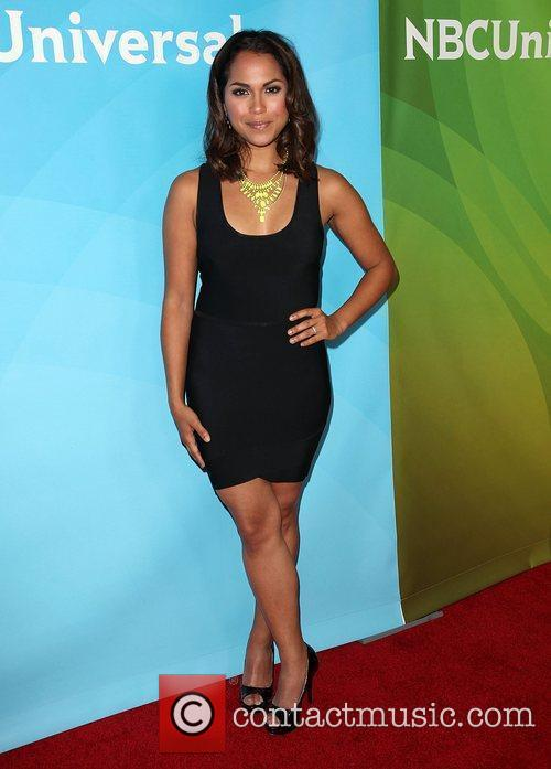Monica Raymund and Beverly Hilton Hotel 3