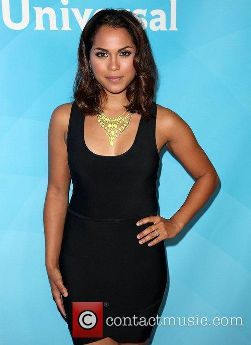 Monica Raymund and Beverly Hilton Hotel 4