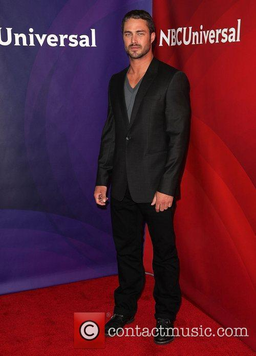 Taylor Kinney and Beverly Hilton Hotel 2