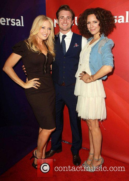 Amber Kelleher-Andrews, Matt Hussey, Tracy McMillan NBC Universal...