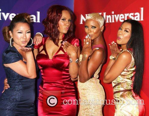 Eva Marcille, Denyce Lawton and Beverly Hilton Hotel 1