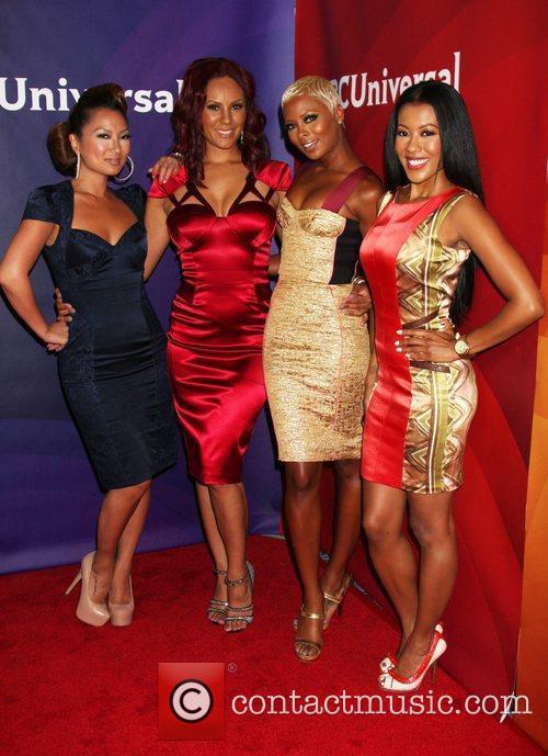 Eva Marcille, Denyce Lawton and Beverly Hilton Hotel 2