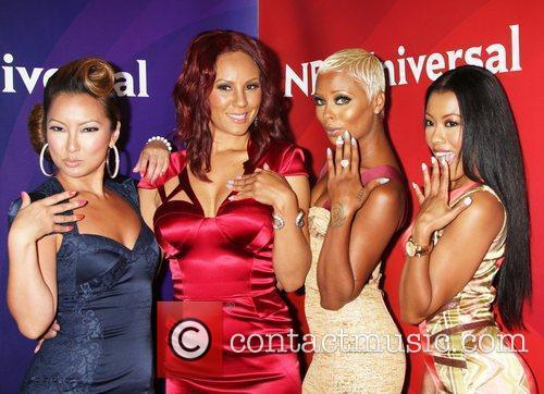 Eva Marcille, Denyce Lawton and Beverly Hilton Hotel 3