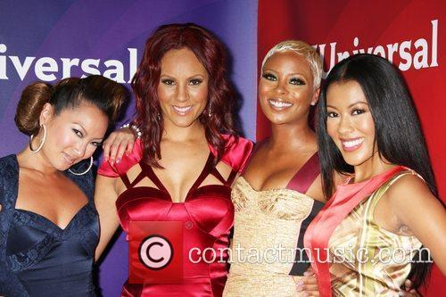 Eva Marcille, Denyce Lawton and Beverly Hilton Hotel 4