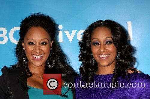 Tia Mowry and Beverly Hilton Hotel 2