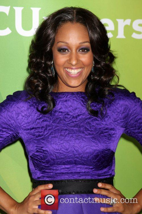 Tia Mowry and Beverly Hilton Hotel 6