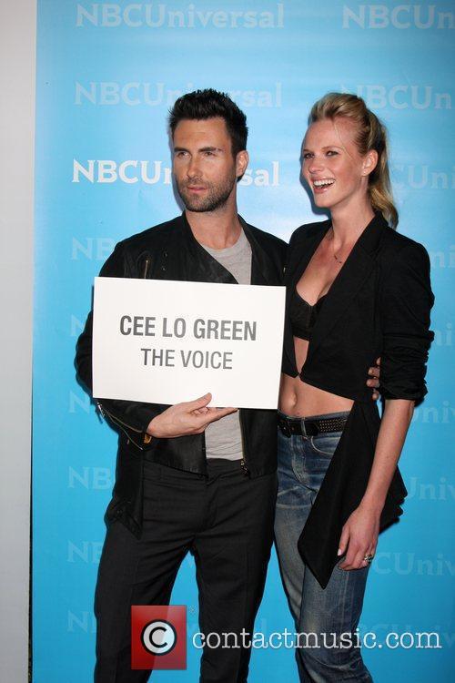 Adam Levine, Anne V. NBC Universal's Winter Tour...