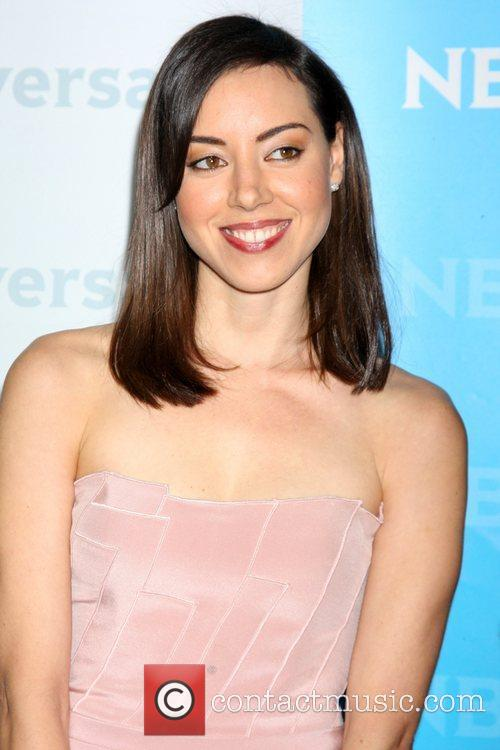 Aubrey Plaza NBC Universal's Winter Tour party at...