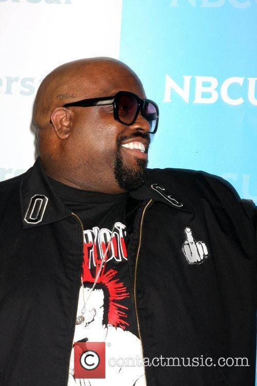 CeeLo Green NBC Universal's Winter Tour party at...
