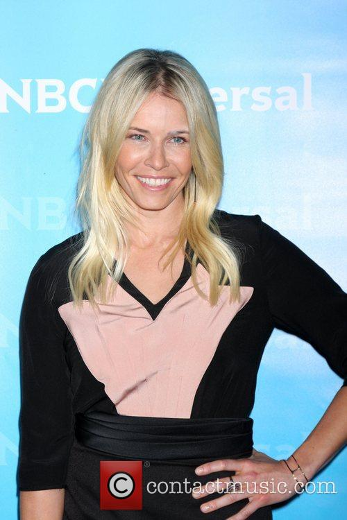 Chelsea Handler NBC Universal's Winter Tour party at...