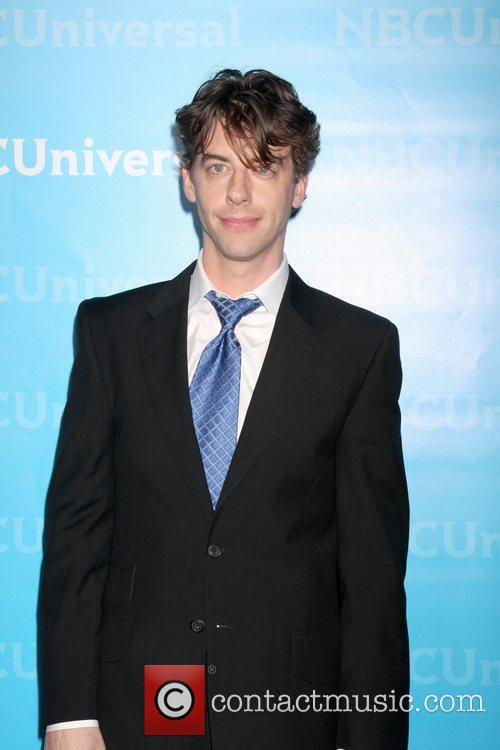 Christian Borle NBC Universal's Winter Tour party at...