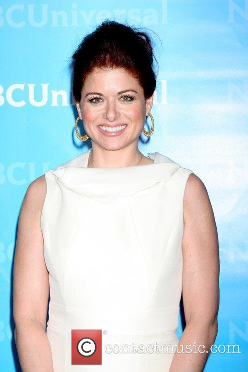 Debra Messing NBC Universal's Winter Tour party at...