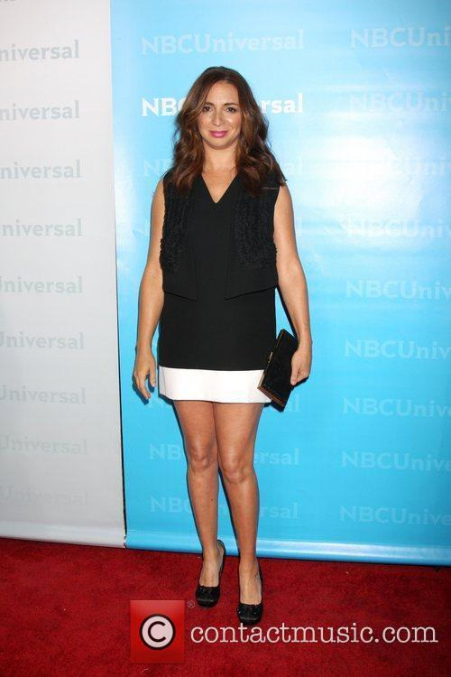 Maya Rudolph NBC Universal's Winter Tour party at...