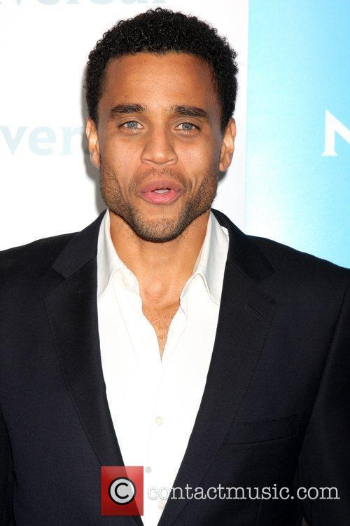 Michael Ealy NBC Universal's Winter Tour party at...