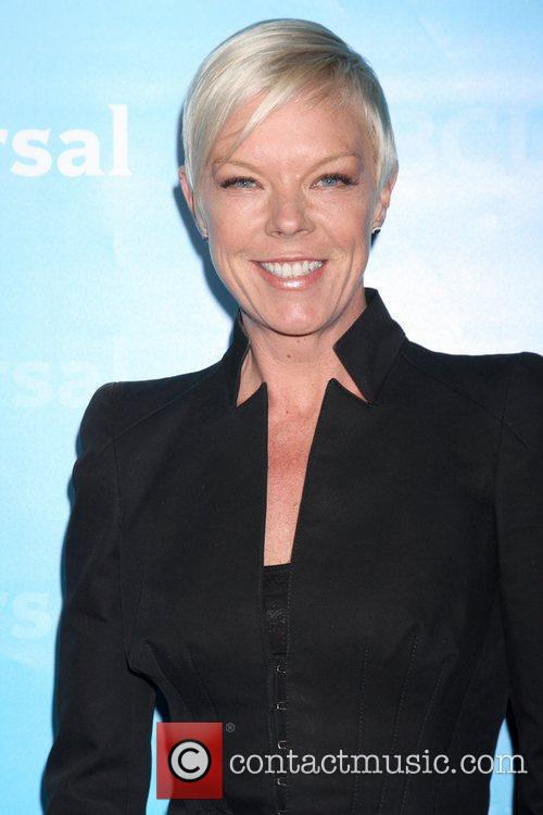 Tabatha Coffey NBC Universal's Winter Tour party at...