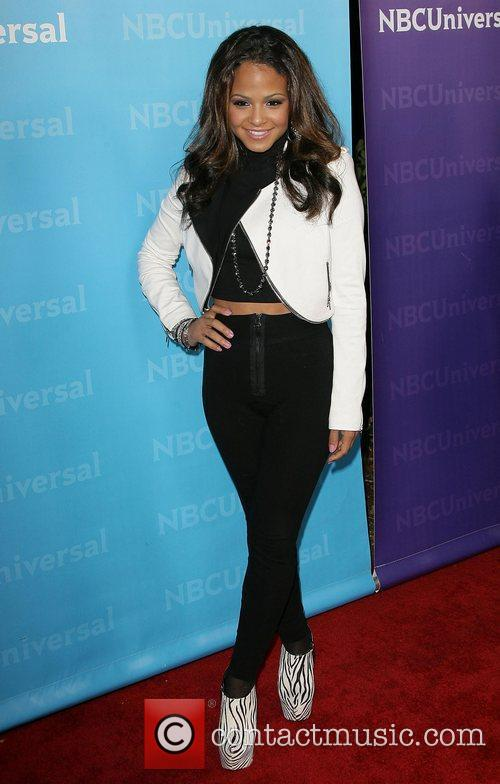 christina milian nbc universals winter tour party 3672967