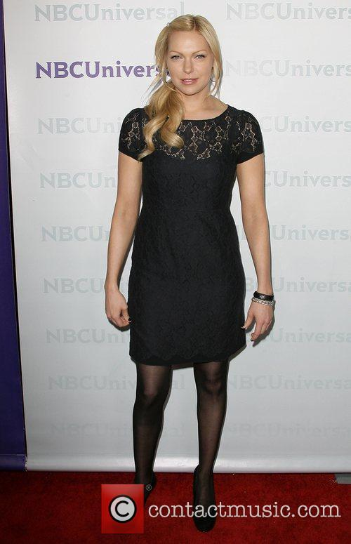 Laura Prepon NBC Universal's Winter Tour party at...