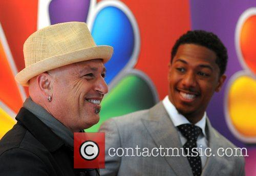 Howie Mandel and Nick Cannon 8