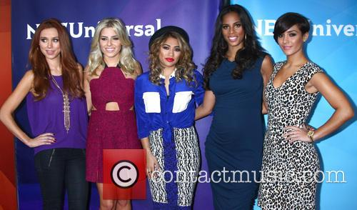 Una Healy, Mollie King, Vanessa White, Rochelle Humes and Frankie Sandford 9
