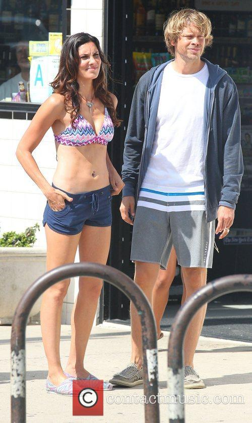 Daniela Ruah and Eric Christian Olsen 1