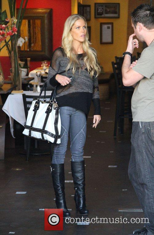 Jessica Canseco out and about while filming her...