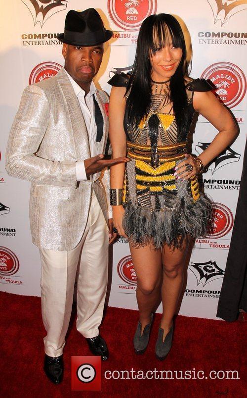 Ne-Yo and Guest Ne-Yo & Compound Entertainment's 4th...
