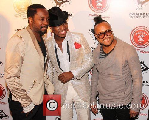 will.i.am, Ne-Yo and apl.de.ap Ne-Yo & Compound Entertainment's...