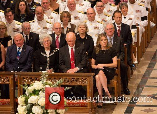 Memorial service in honour of United States astronaut...