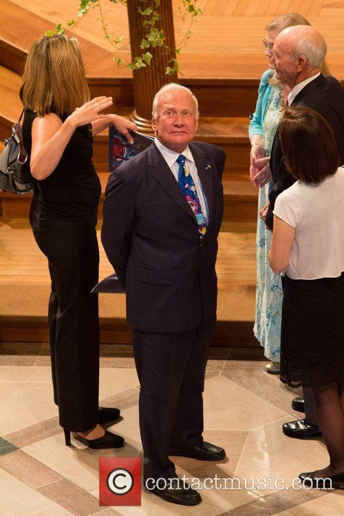 Buzz Aldrin Memorial service in honour of United...
