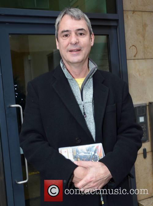 Neil Morrissey at the Today FM studios to...
