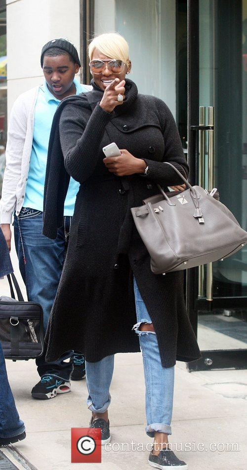Nene Leakes out and about in Manhattan New...