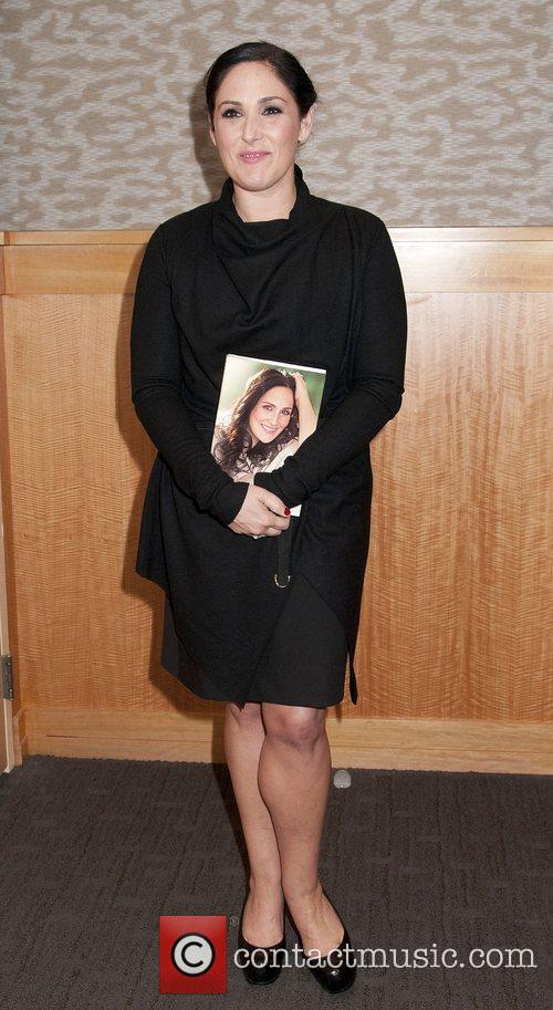 Ricki Lake promotes her book 'Never Say Never'...
