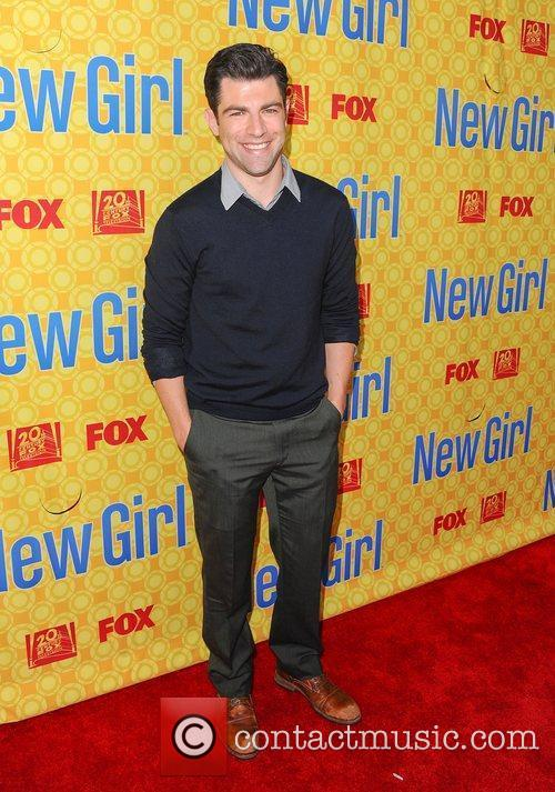 Max Greenfield (Schmidt),  at the 'New Girl'...