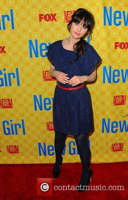 Zooey Deschanel (Jess),  at the 'New Girl'...