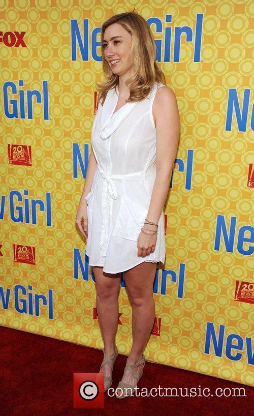 Liz Meriwether  at the 'New Girl' academy...