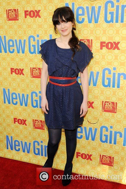 At the 'New Girl' academy screening at the...
