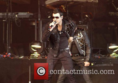 Jordan Knight, New Kids On The Block and Liverpool Echo Arena 1