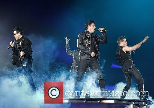 New Kids On The Block, Backstreet Boys and Liverpool Echo Arena 2