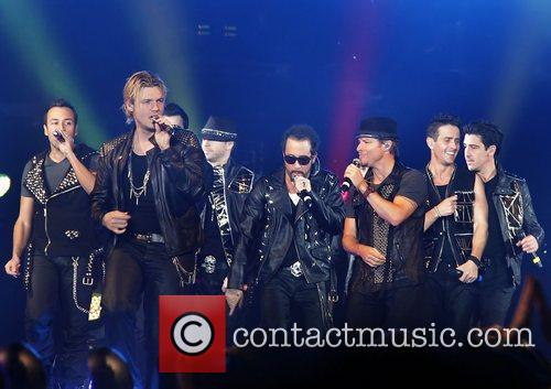 Nick Carter, Backstreet Boys and Liverpool Echo Arena 3
