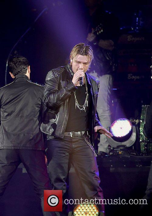 Nick Carter, Backstreet Boys and Liverpool Echo Arena 1